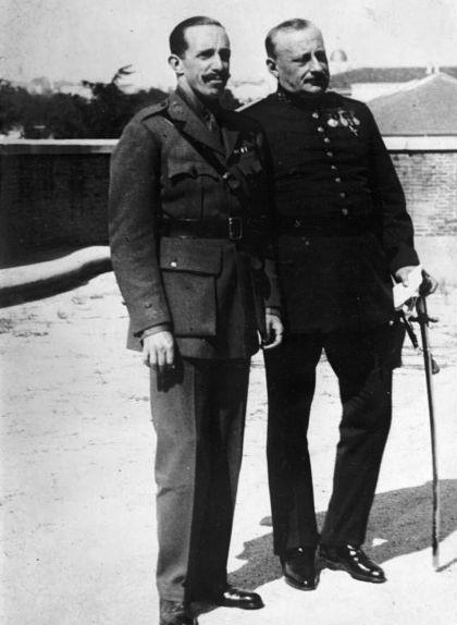 Miguel Primo de Rivera i Alfons XIII
