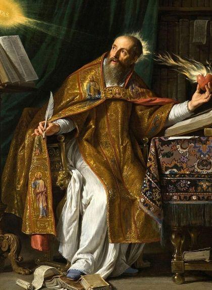 'Sant Agustí', obra de Philippe de Champaigne