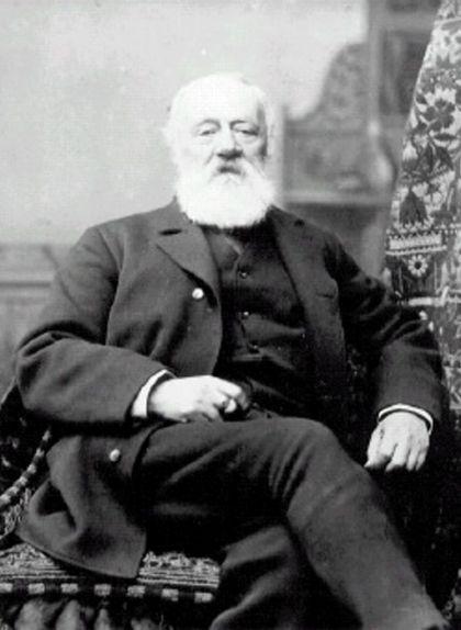 Antonio Meucci, en un retrat del 1878
