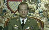 Joan Carles I durant el discurs del 23 de febrer de 1981