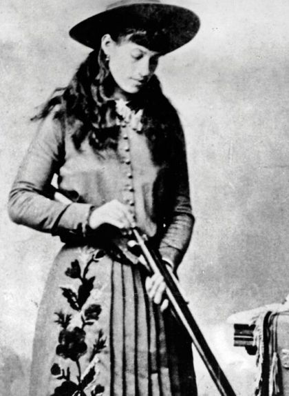 Annie Oakley, preparada per disparar