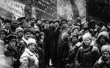 Celebració a la plaça Roja de Moscou del segon aniversari de la Revolució d'Octubre, el 7 de novembre de 1919