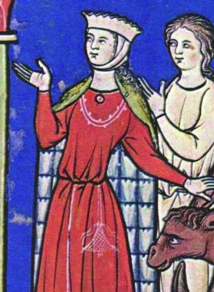 Pintura d'Aurembiaix d'Urgell