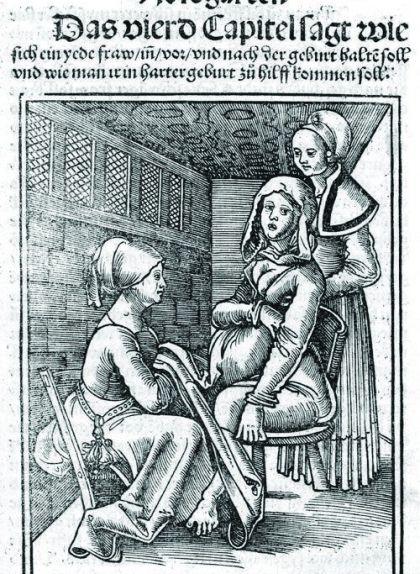 Bonanada fent de llevadora