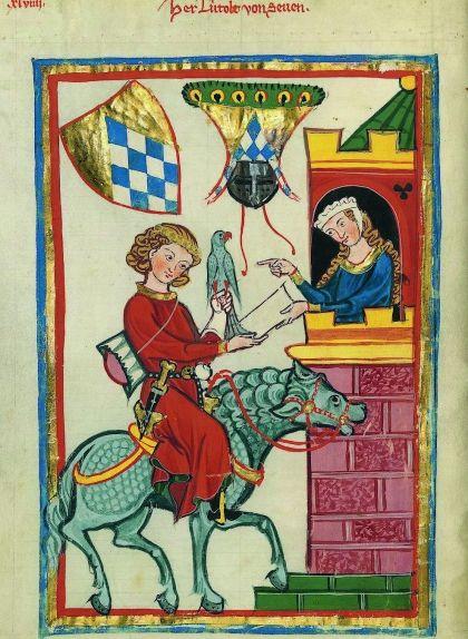 Aldonça de Bellera a la seva torre