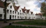 El beguinatge de Bruges, un dels més ben conservats i dels més visitats