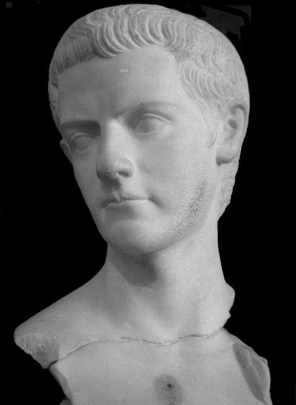 Bust de l'emperador Calígula