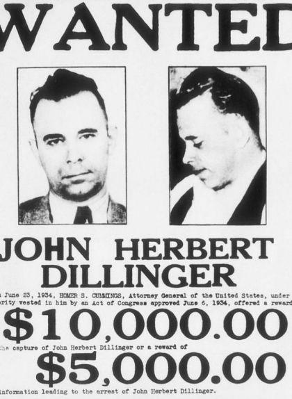 Dillinger va amenaçar amb una pistola de sabó per fugir del penal