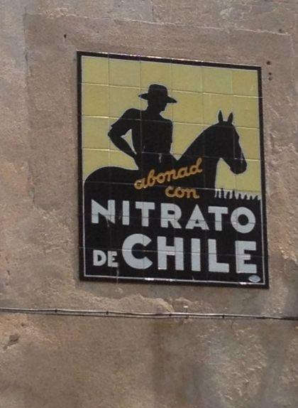Anunci del Nitrato de Chile