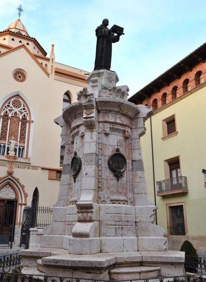 Monument a Francesc d'Aranda a Terol