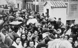 Desenes de milers de persones van creuar la frontera francoespanyola per fugir del victoriós franquisme (a la imatge, el pas del Pertús)
