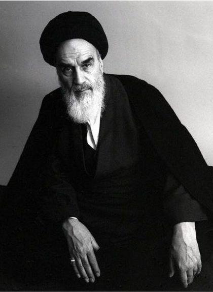 Fotografia de l'aiatol·là Ruhol·là Khomeyní