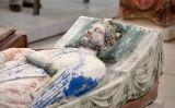 Ricard va temptar la mort fins al final. A la foto, detall del sepulcre del rei que hi havia al monestir de Fontevrault