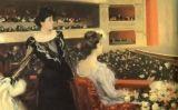 El quadre 'Al Liceu' (1901-1902), de Ramon Casas, mostra el públic burgès de l'època