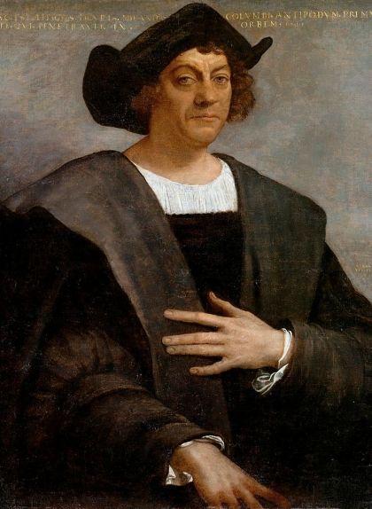 Retrat de Cristòfor Colom, obra de Sebastiano del Piombo (1519)