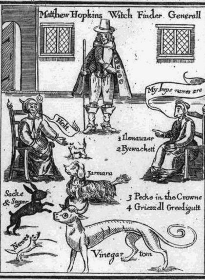Il·lustració del mètode d'observació de 24 hores per detectar una bruixa
