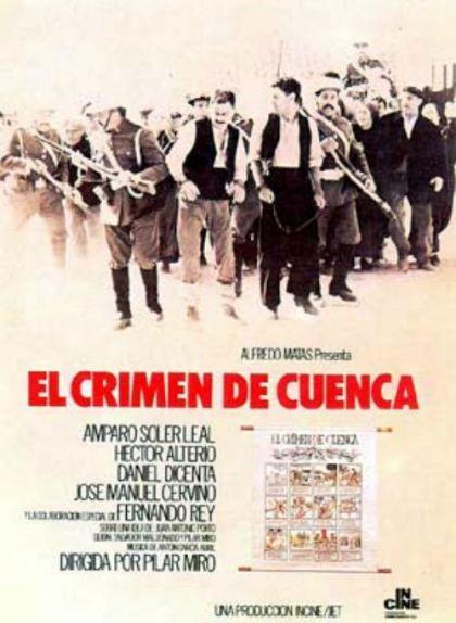 Cartell de la pel·lícula 'El crimen de Cuenca'