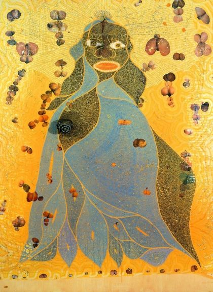 'The Holy Virgin Mary', de Chris Ofili
