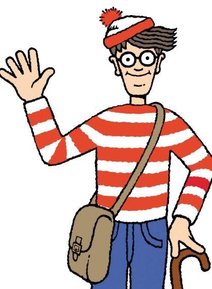 Wally, el popular personatge de Martin Hanford