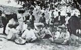 Un grup de zapatistes reunits a El Jilguero