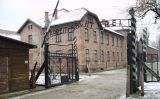 Entrada al camp de concentració d'Auschwitz
