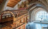 La galera que es conserva a les Drassanes Reials de Barcelona