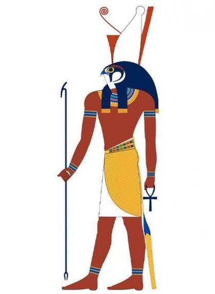 En un baix relleu del Museu Louvre hi apareix el déu Horus assassinant un cocodril