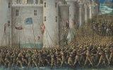 'El setge d'Antioquia', obra del pintor Sébastien Mamerot