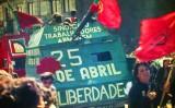 Manifestació el 25 d'abril de 1983 a Porto