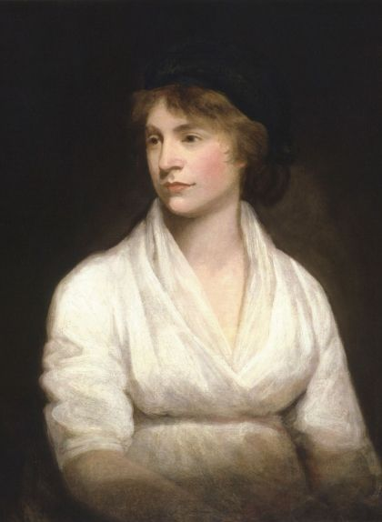 Retrat de Mary Wollstonecraft, obra de John Opie (1797)