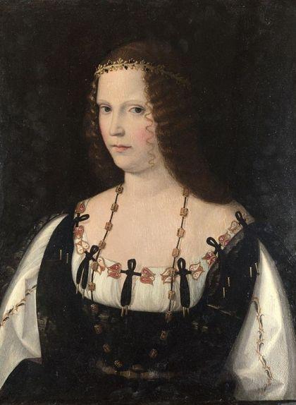 La figura del llenç 'Retrat d'una dona', de Bartolomeo Veneto, és, possiblement, Lucrècia de Borja