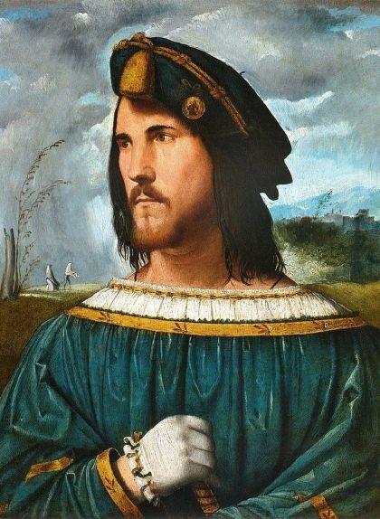 Retrat de Cèsar Borja, del pintor italià Altobello Meloni