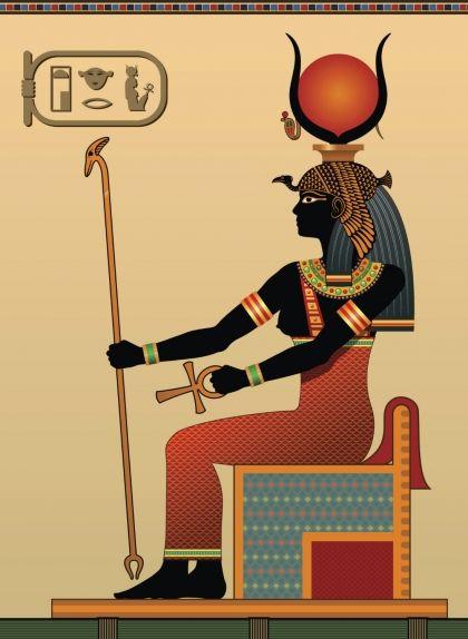 Representació de la deessa Hathor