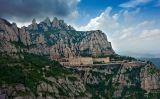 El monestir de Montserrat, un dels indrets més majestuosos de Catalunya