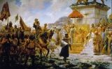 Entrada triomfal de Roger de Flor a Constantinoble