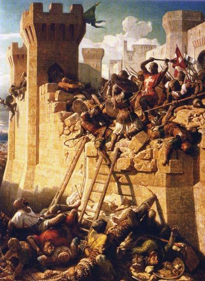 El setge d'Acre, de 1291
