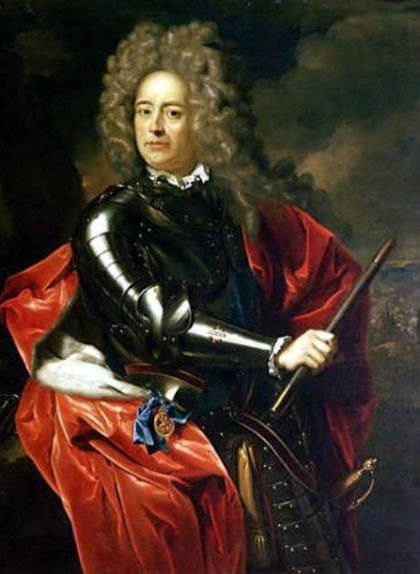 Retrat de John Churchill, el duc de Marlborough, general de les tropes angleses durant la guerra de Successió