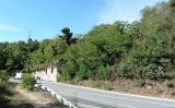La carretera de la Rabassada, el lloc on una patrulla d'anarquistes va portar Josep M. Planes després de descobrir el seu parador