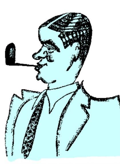 Caricatura de Josep Maria Planes
