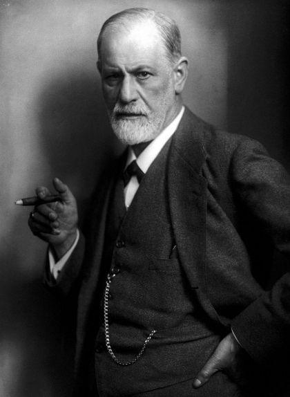 Retrat de Sigmund Freud, pare de la psicoanàlisi