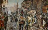 'Entrada triomfal del rei Jaume I a València', de Fernando Richart Montesinos