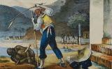Quadre de Jean-Baptiste Debret en què es pot veure el maltractament i els càstigs soferts pels esclaus al Brasil
