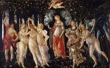 'La Primavera', de Sandro Botticelli, es troba a la Galleria degli Uffizi de Florència (Itàlia)