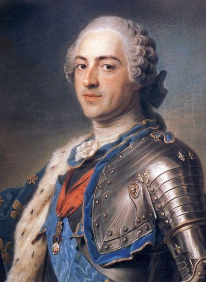 Retrat de Lluís XV