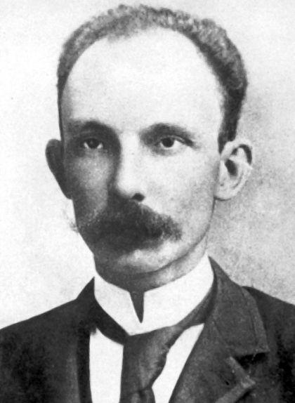Retrat de José Martí, creador del Partit Revolucionari Cubà (PRC)