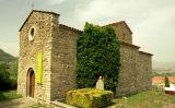 L'església romànica de Vinyoles, on s'hi va establir mossèn Cinto Verdaguer com a vicari