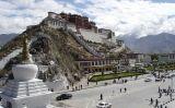 El palau de Potala a Lhasa, la capital del Tibet