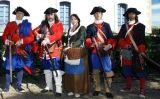 Fusellers del Regiment de Muntanya Vilar i Ferrer recreats pels Miquelets de Catalunya