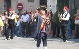 Miquelets en una celebració popular a Badalona