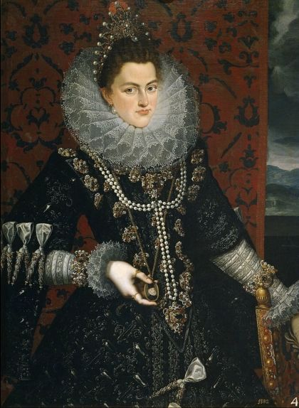 Retrat d'Isabel Clara Eugènia, que hauria pogut ser la reina d'Anglaterra